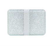 Lunch box Glitter Silver