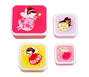 Lunch & snack box set - Fairy