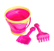 Bucket and spade set - Pink