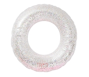 Inflatable swim ring: Glitter