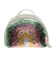 Cool bag: Rainbow sequin