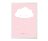 Poster Cloud Pink