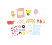 Postcard set Cute kawaii