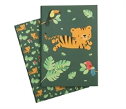 A5 notebooks - Jungle Tiger