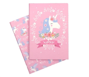 A5 notebooks: Unicorn