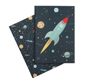 A5 notebooks: Space