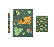 Stationery set - Jungle tiger