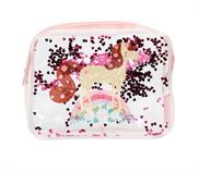 Toiletry bag: Glitter – horse