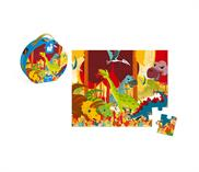 Janod Hat Boxed Puzzle Dinosaurs 24 pieces