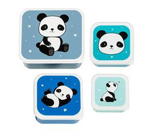 Lunch & snack box set: Panda
