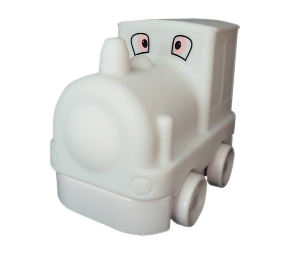 Toby The Train natlampe med USB oplader