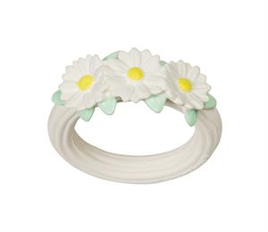 Teething ring: Daisy chain